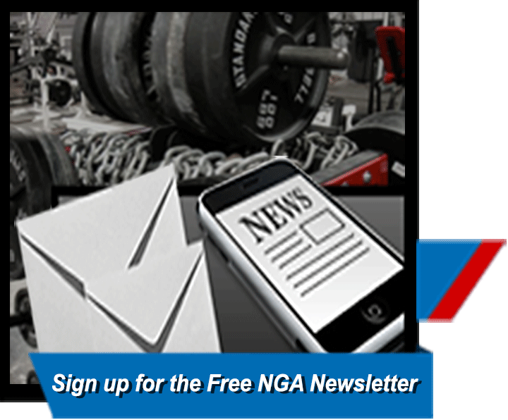 National Gym Association Newsletter sign-up