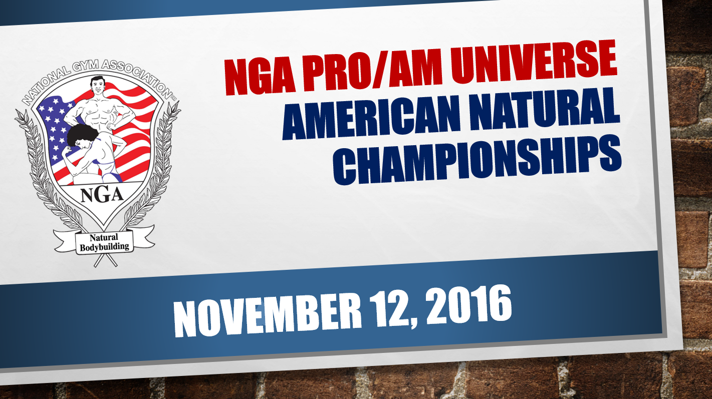 2016 THE NGA NATIONALS video